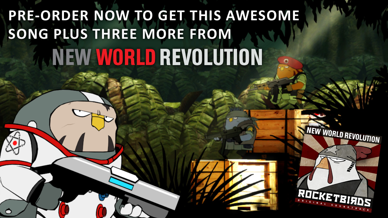 "You get Four awesome ""New World Revolution"" songs!"